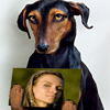 Dog with your photo